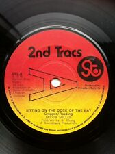 "Jacob Miller - Sitting On The Dock Of The Bay / Version 7"" 2nd Tracs Promo SK5"