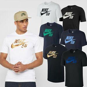 FREE-1st-CLASS-SHIPPING-Nike-SB-Men-039-s-Camo-Logo-T-Shirts-Classic-Sports-Tees