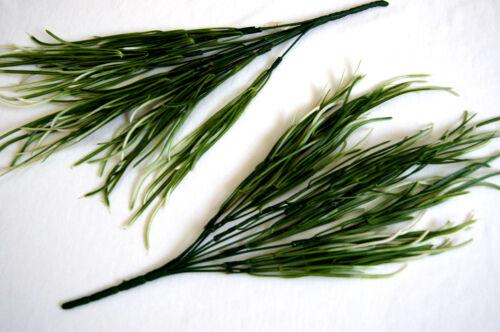 2 Grasbusch Gras Pflanze Kunstgras Kunstpflanze künstliche Deko Pflanze GR16