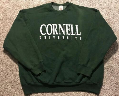 Vintage 80's / 90's Men's XXL / 2XL Cornell Univer
