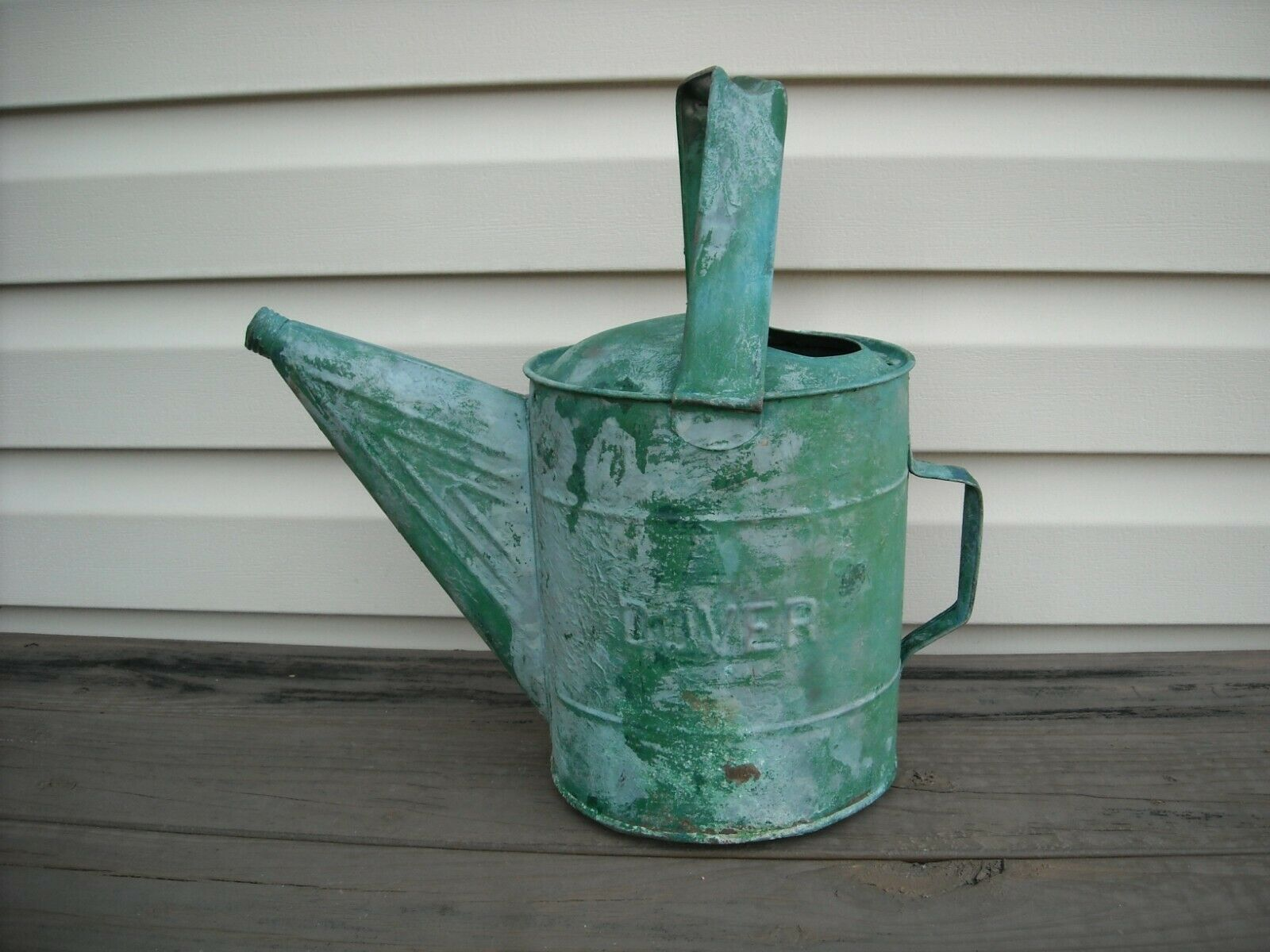 Dover 708 Watering Can LEAKS GREAT GARDEN DECOR / PLANTER