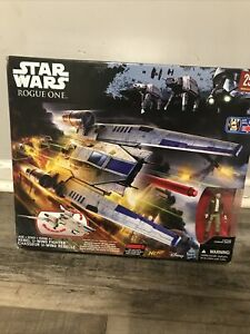NERF-Star-Wars-Rogue-One-Rebel-U-wing-Fighter-Captain-Cassian-Andor-Hasbro-NEW