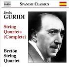 Jes£s Guridi: String Quartets (Complete) (CD, Jun-2013, Naxos (Distributor))