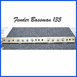 Fender-Bassman-135-Amp-Panel-1981-Components-Parts-Pots-Caps-Switches-Wire-NOS