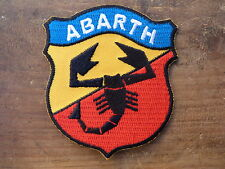 ECUSSON PATCH THERMOCOLLANT aufnaher toppa ABARTH fiat simca autobianchi lancia