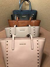 618574de71e4e8 item 1 Michael Kors Tote Handbag Medium Leather Colors Blue Denim Black  Pink Cement Brn -Michael Kors Tote Handbag Medium Leather Colors Blue Denim  Black ...