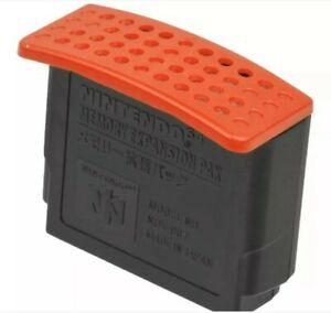 Nintendo 64 Expansion Pack Official N64 Memory Pak OEM NUS-007 Same Day Shipping