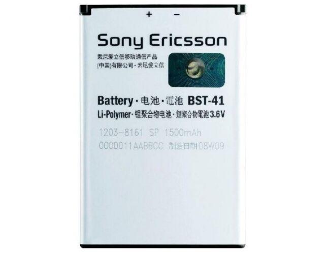 Original Sony Ericsson Akku BST-41 für Sony Ericsson Xperia Play Accu 1500mAh