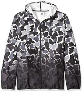 Dh4805 Details Windbreaker New Grey Camo Adidas About Mens Trefoil Originals Dipped Jacket XilPkZuOwT