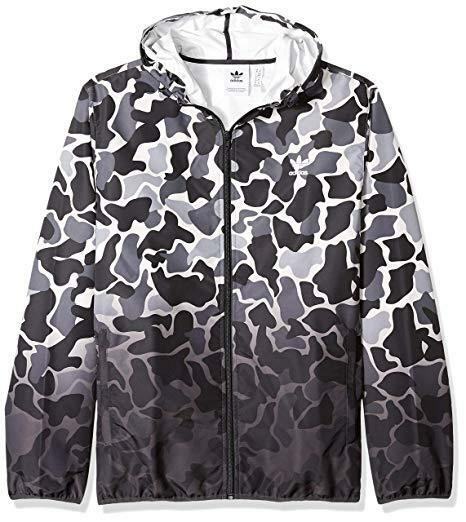 adidas Originals Men's Camouflage Windbreaker