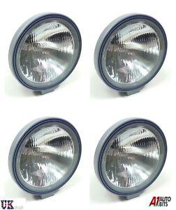 4x-9-034-24-V-70-W-Lamparas-Luces-antiNiebla-Redondo-Claro-Camion-Volvo-Mercedes-Renault-Iveco