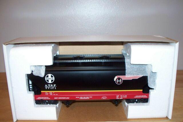 K-Line K6242-1051 ATSF Santa FE Black Bonnet Aluminum 2 Bay Center Flow Hopper for sale online