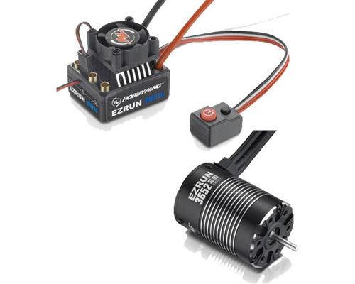 Hobbywing EzRun Combo MAX10 60A + EzRun-SL-3652-5400kV modélisme