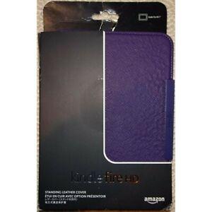 Book Cover originale AMAZON Kindle Fire HD Custodia in pelle Purple