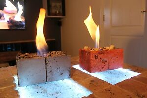 Image Is Loading Bio Ethanol Fire Fireplace In Out Door Patio