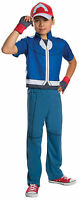 Kids Deluxe Pokemon Ash Costume Size Large 12-14
