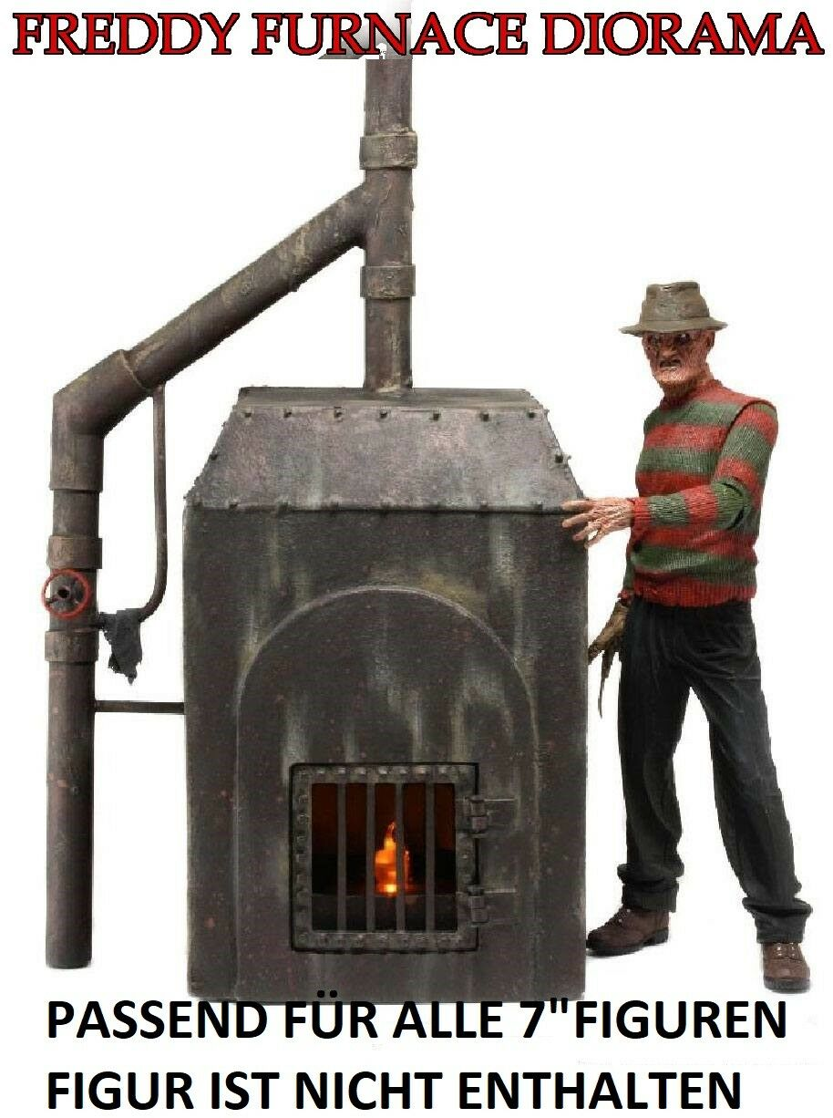 Neca - - - a Nightmare on Elm Street Diorama Freddy's Furnace - Oven - Nip 3ad77a