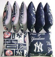 York Yankees Cornhole Bean Bags Set Of 8 Top Quality Regulation Toss Game S