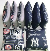 York Yankees Cornhole Bean Bags Set Of 8 Top Quality Regulation Toss Game S