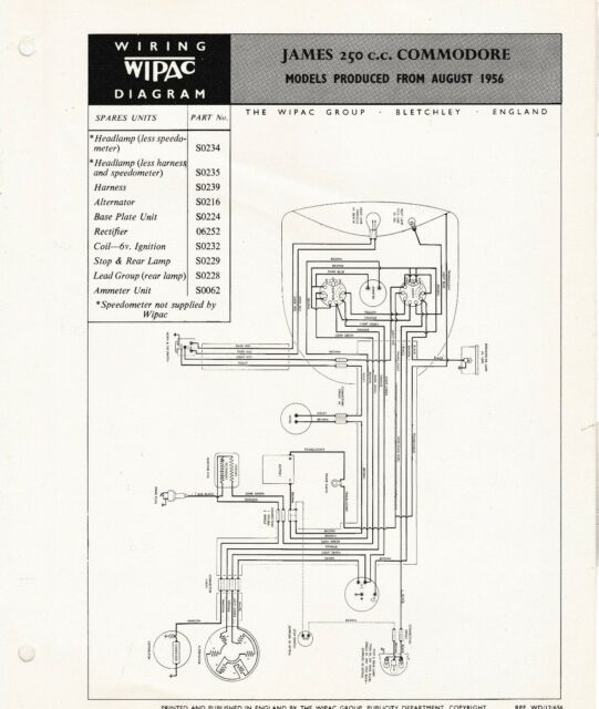 Wipac Wiring Diagram