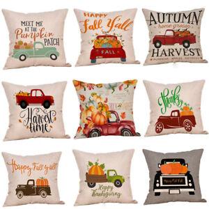 Halloween-Pumpkin-Throw-Pillow-Case-Home-Car-Decor-Sofa-Bed-Cushion-Cover-UA