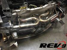 "REV9 08-15 AUDI R8 4.2L V8 X-PIPE 2.5"" TITANIUM CATBACK EXHAUST SYSTEM 2.5 INCH"