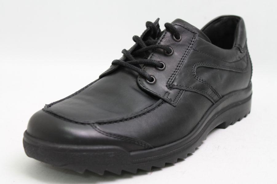 Rôdeur Chaussures noir en cuir noir Chaussures semelle intérieure amovible e3180f