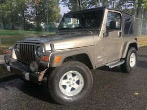Image Is Loading 2005 Jeep Wrangler Sport Clean Carfax No Frame