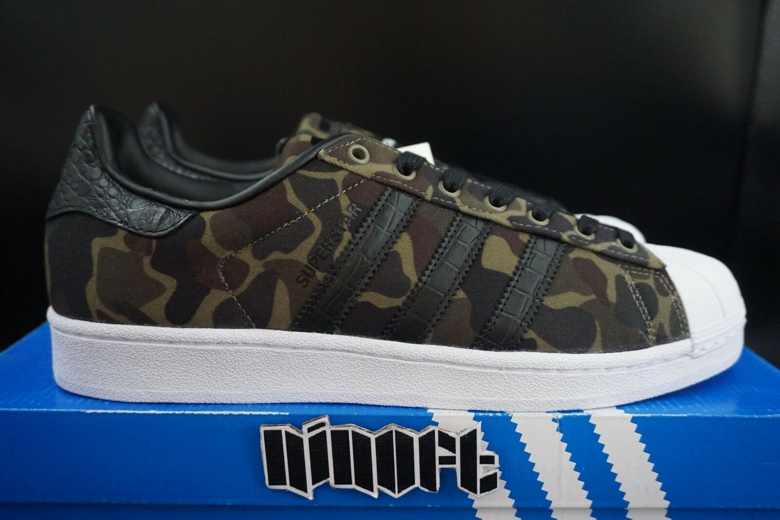 Adidas Originals Superstar Camo BB2774 canvas military