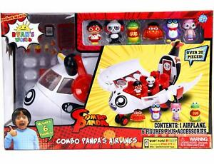 Ryan-039-s-World-Toy-Combo-Panda-Airlines-Ryan-039-s-Toy-Contains-Over-20-Pieces