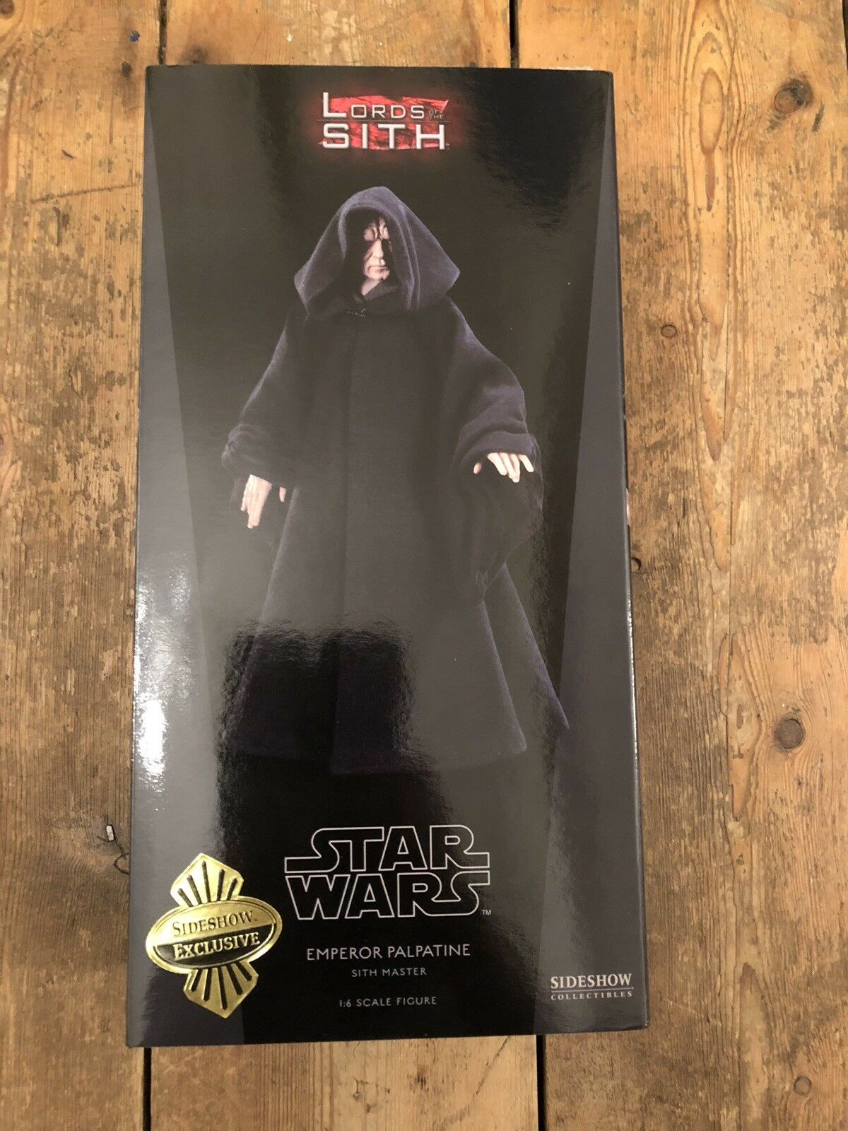 Sideshow Sideshow Sideshow Star Wars Lord Of The Sith Emperor Palpatine ROTJ Exclusive  SSC1111 d776e5