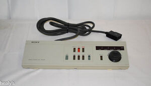 Sony Editing Remote Control Unit RM-580