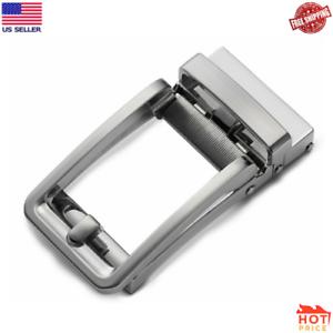 Ratchet Belt Buckle Only Automatic Slide Buckle for Belt Strap 3.5cm Auto