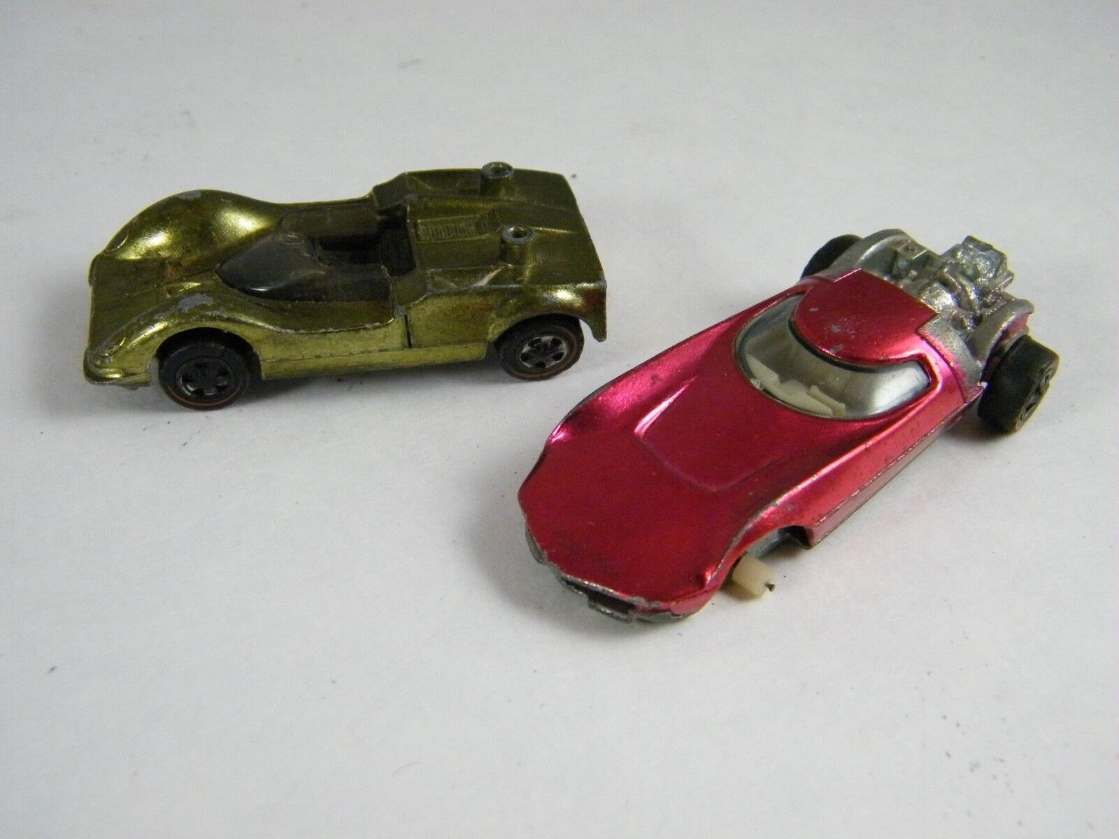 (2) 1968 HOT WHEELS CHAPARRAL 2G AND TURBOFIRE