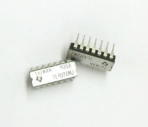 TL497AMJ Lot of 5 - Ceramic DIP-14 // TL497 Switching Voltage Regulator -