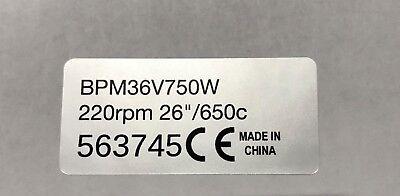 "Bosch MAC Pedelec ebike 2x motor sticker 250w legal for 28"" wheel Bafang BMC"