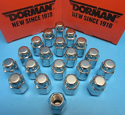 Set 20 Brand NEW Wheel Lug Nuts Acorn Replace Ford OEM# 611-100 CHROME EXPEDITED