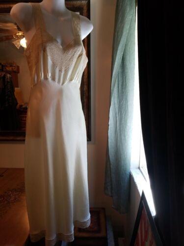 Vintage Heavenly Fischer Satin Finish Slip Dress 3