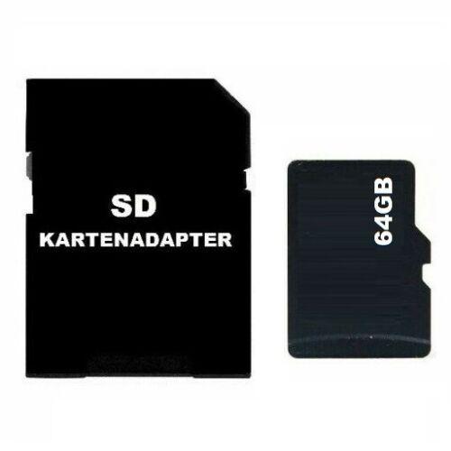 NEU 64GB Micro SD Speicherkarte Memory Card Kartenadapter für HANDY TABLET Z166