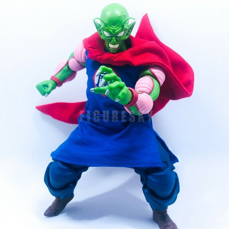"1/12 Scale Custom Clothes+ Red Wired Cloak for 6"" Figure SHF Dragon Ball Piccolo"