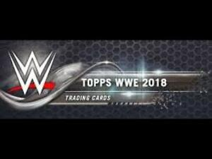2018-Topps-WWE-Wrestling-Cards-Kiss-Mat-Relic-or-Autos-Pick-From-List
