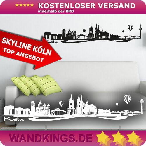 tamaño /& color elegibles ▌ wandkings ▐ murales skyline colonia-colonia dom