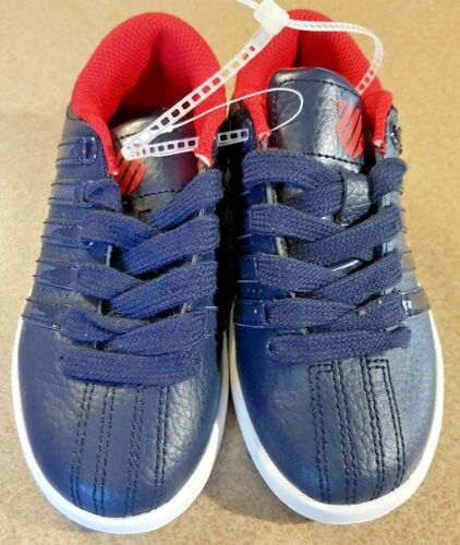 Brand New Boys K Swiss Blue and Red Sneakers
