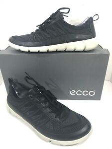 hot sales hot-selling discount super cheap compares to Details about Ecco Intrinsic 1 Men's Size 9-9.5(EU43) Black Knit Low Lace  Up Shoes X21-102