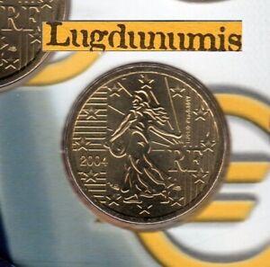 France 2004 10 Centimes D'euro FDC Scéllée provenant coffret BU 120 000 ex