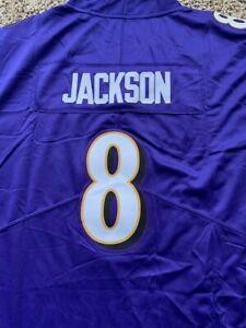lamar jackson baltimore ravens jersey adult