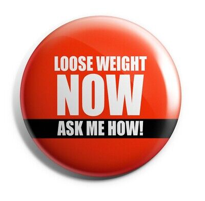 HERB-003 Herbalife Button type Loose weight now ask me how