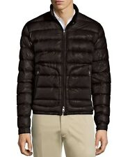 New Moncler 2017 Acorus Quilted Nylon Puffer Jacket Nwt Black
