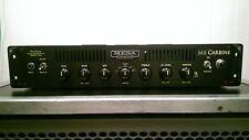 Mesa M6 carbine rack mount bass amplifier 600 watts tube tone