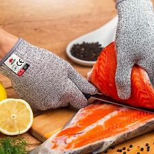 Safety Resistant Stainless Cut Proof Stab Steel Metal Mesh Butcher Gloves